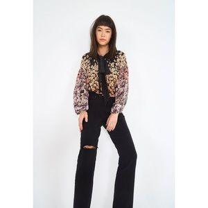 LEVI'S Wedgie Fit High Rise Jeans Black Desert